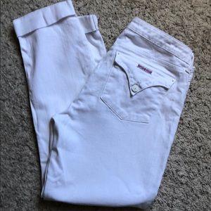 White Hudson bacara  jeans size 32